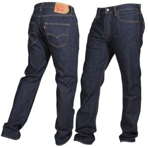 Levis 501 button fly jeans 35x34